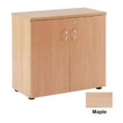 Jemini 730mm Cupboard 1 Shelf Maple Kf838432