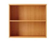 Jemini 1000mm Bookcase 1 Shelf Beech Kf838413