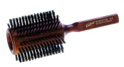Wild Boar's Bristle Round Styling Hairbrush with Oiled Beechwood Handle, 9 cm diameter, 8-1/4-Inches, Nessentials