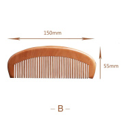 BLONDE UNICORN Beautiful Hair Comb - Wood with Anti-Static - Wig Comb or Brush or Daily Use