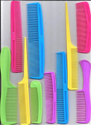 10 PC FAMILY HAIR COMB SET..RATTAIL, AFRO, DRESSER, STYLING., POCKET,,OTHERS..