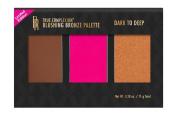 Black Radiance True Complexion Blushing Bronze Palette, Dark to Deep, 10ml