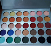 35 colours long lasting shimmer matte Eyeshadow palette collection 35o 35F 35OS 35 OM