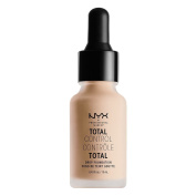 NYX glitz Total Control Drop Foundation- TCDF lightivory
