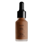 NYX glitz Total Control Drop Foundation- TCDF cocoa