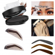 Baomabao Makeup Eyebrow Powder Brow Stamp Palette Delicated Shadow Definition
