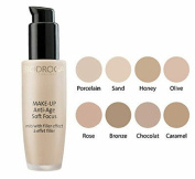 Biodroga Soft Focus Anti-Age Makeup w/Filler Effect Porcelain 01- 30 ml. Acts like a softener and instantly conceals fine lines and skin irregularities.