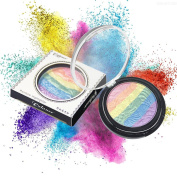 Rainbow Highlighter Cinidy Makeup Comestic Tools Eyeshadow Blusher Makeup Rainbow Pigments Eyeshadow Palette Highlighter