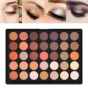 U-Kiss Eyeshadow Palettes Shimmer + Matte 35 Colours Makeup Palette, Natural, Warm, Waterproof