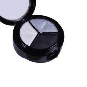 UPLOTER 3 Colours Makeup Smokey Cosmetic Set Professional Natural Matte Makeup Eye Shadow Eyeshadow Palette