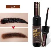 Born Beauty Tattoo Eyebrow Gel Peel Off Natural Brown Eyebrow Dye Tint Cream