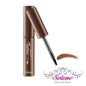 Solone Light Tatto Eye Brow Gel 3 Colours w/ 3 Free Eye Brow Shape drawing cards (