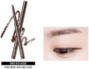 [the SAEM] Eco Soul Powerproof Super Slim Eyeliner #BR04 Mellow Brown