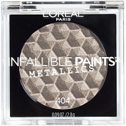 L'Oreal Infallible Paints Metallics Eyeshadow, 404 Caged
