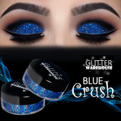 GlitterWarehouse Blue Crush Holographic Loose Glitter Eye Shadow Powder