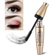 SHERUI 3D Mascara Waterproof Liquid Fibre Long Black Eye Lashes Eyelashes Curling Mascara Brush
