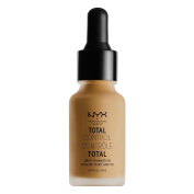 NYX glitz Total Control Drop Foundation- TCDF caramel