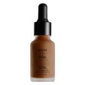 NYX glitz Total Control Drop Foundation- TCDF chestnut