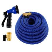 Triumph Stream Expandable Hose + 1-Year OEM Warranty | Flexible Garden Hose 15m + Water Hose Nozzle | Safe Drinking Flexible Hose As Seen On TV | Expandable Garden Hose w/ Water Hose Sprayer