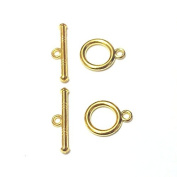 10 Sets Toggle Clasps Connectors Jewellery Findings T-Bar & Ring Clasps