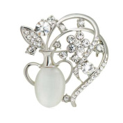 Alloy Vintage Jewellery Pins Wedding Gifts Floral Brooches 2 Pcs Jewellery Accessory