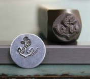 8mm Anchor Metal Punch Design Jewellery Stamp