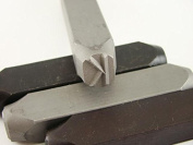 """1.3cm Letter """"K"""" Stamp-Punch-Hand-Tool-Gold Bar-Silver-Trailer-Metal-Leather"""