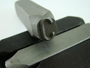 """1.3cm Letter """"C"""" Stamp-Punch-Hand-Tool-Gold Bar-Silver-Trailer-Metal-Leather"""