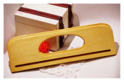 Ownstyle Rectangle Wood Purse Handle For Sewing 2 Pcs 30cm