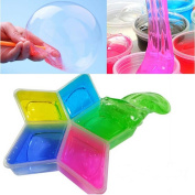 Hotsale! Wensltd 5 Pcs/lot Colourful Clay Slime DIY Non-toxic Crystal Mud Play Transparent Magic Plasticine Kid Toys