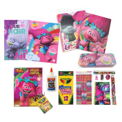 Dreamworks Trolls stationery and Back-To-School Set