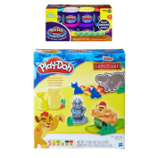 Play-Doh Disney Junior The Lion Guard Play Set + Play-Doh Plus Compound Bundle