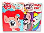 My Little Pony Colouring and Activity Play Pad - Includes 1 of 3 Assorted Style Colouring Books Featuring Pinkie Pie, Twilight Sparkle or Rainbow Dash