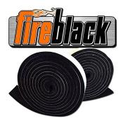 FireBlack 125 Black Nomex Self Stick Replacement Big Green Egg Gasket High Temp w/ LavaLock (tm Fits LG XL