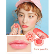 Featurestop Natural Rose petals lasting waterproof lipstick moisturising lipstick lip gloss makeup