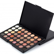 UPLOTER 40 Colours Glitter Eyeshadow Makeup Eye Shadow Palette Blush Palette Makeup Concealer