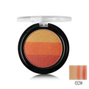 Tanali Shimmer Rainbow Eyeshadow Powder Palette,Cosmetics Glow Pallet