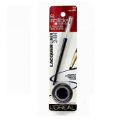 L'Oreal Infallible Never Fail Gel Eyeliner, Lacquer Liner, #172 Navy, Blue Marine + FREE Luxury Luffa Loofah Bath Sponge On A Rope, Colour May Vary