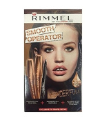 Rimmel Smooth Operator, Wonder'Full Kit + FREE Luxury Luffa Loofah Bath Sponge On A Rope, Colour May Vary