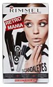 Rimmel Retro Mania, ScandalEyes Kit + FREE Luxury Luffa Loofah Bath Sponge On A Rope, Colour May Vary