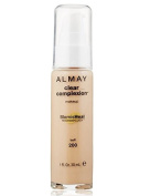 Almay Clear Complexion Makeup, 30ml + FREE Luxury Luffa Loofah Bath Sponge On A Rope, Colour May Vary