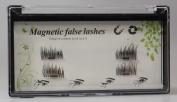 4Pcs Ultra-thin 0.5mm Magnetic Eyelashes 3D Reusable Iusun False Magnet Eye Lashes Extension