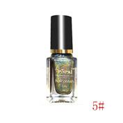 Coohole 7ML Glitter Bling Nail Effect Glossy Long-lasting Nail Powder No Polish Foil Nails Art