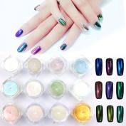 MOPRETTY Colourful Nail Nail Art 12 colours 12Pcs/set