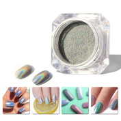 MOPRETTY 1g/Box Nail Art Colourful Set Manicure Chrome