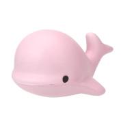 AMA(TM) Simulation Soft Whale Cartoon Squishy Slow Rising Squeeze Toy Phone Straps Ballchains