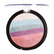 Glorrt Focallure Rainbow Highlight Eyeshadow Palette Baked Blush Face Shimmer Colour