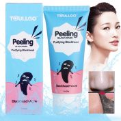 Charcoal peel off mask, Black Mask, Black purifying peel off mask, Remove Blackheads/Skin Oil/Dead Skin/Acne at the same time,1 tube four effect 60ml 2.05oz
