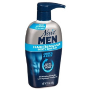 Nair Hair Remover Men Body Cream 380ml Pump (2 Pack) by Nair