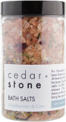 Cedar and Stone - Frankincense + Lime Bath Salts - 330 Grammes